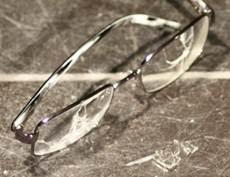 shattered lens