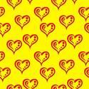 Paño de microfibras visio-rx diseño corazones amarillos