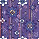 Paño de microfibras visio-rx diseño flores violetas