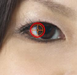 click left iris