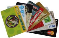 credit and membership cards