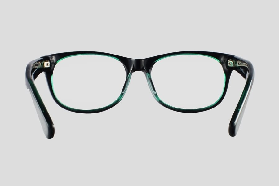Eyeglass Frames Atlanta : Glasses: Atlanta Reor in the color(s): Black,Green. F10.201UGR