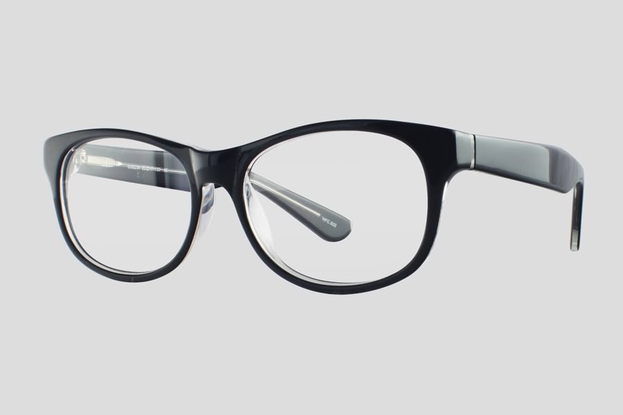 Eyeglass Frames Atlanta : Glasses: Atlanta Reor in the color(s): Black,Clear. F10.201UX1