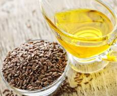 flaxseeds and oil