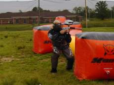 jugado al paintball