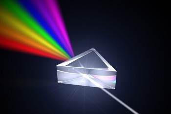 prisma breekt licht