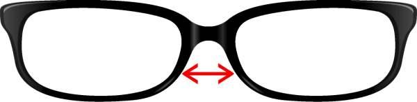 mostek w okularach