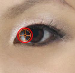 klik rechter iris