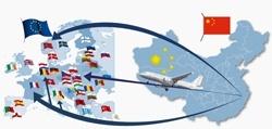 Desde China hasta Europa