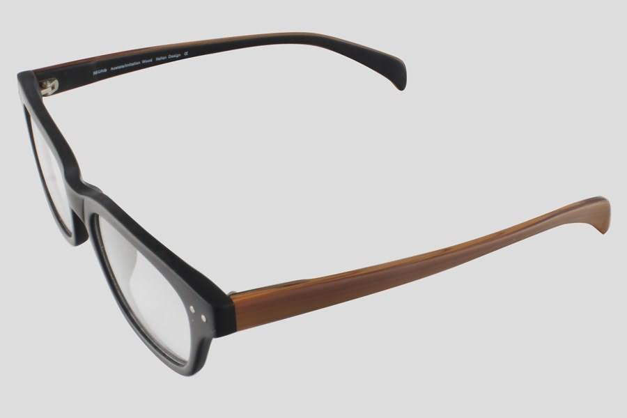 Glasses: Dayton Reor in the color(s): Black,Brown. F10.156UBL