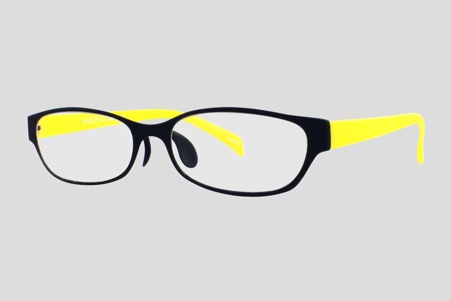 Glasses: Sacramento Reor in the color(s): Black,Yellow ...