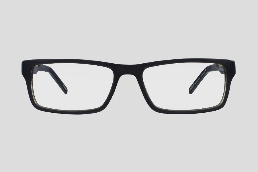 Eyeglass Frames Tucson : Glasses: Tucson Reor in the color(s): Black,Silver. F10.634UGY