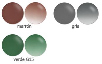 colores lentes para gafas de sol visio-rx